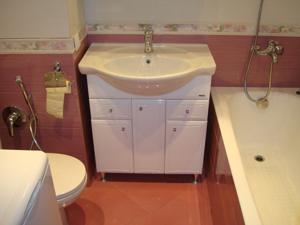 Как сделать ремонт и совместить ванную и туалет